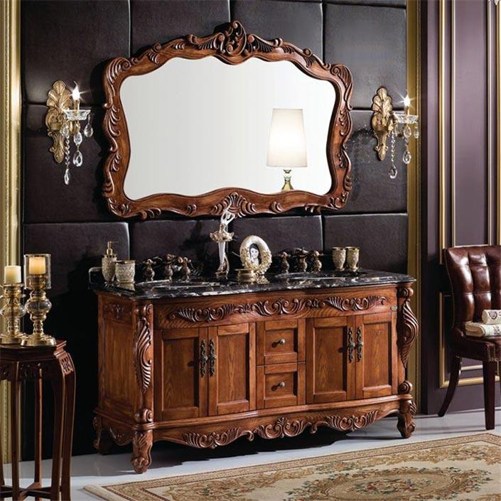欧式实木浴室柜代表款式大揭秘!